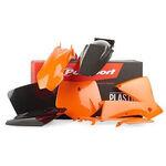 _Polisport Plastik Kit KTM SX 01-02 EXC 03 EXCF 03 | 90100 | Greenland MX_