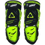 _Leatt 3DF Hybrid Knieprotektoren Schwarz/Lime | LB50154004300P | Greenland MX_
