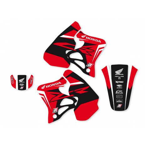 _Blackbird Dream 4 Aufkleber Kit Honda CR 125 93-97  CR 250 92-96 | 2140N | Greenland MX_