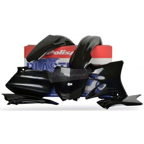_Polisport Plastik Kit Yamaha YZ 125/ 250 06-14 Schwarz | 90393 | Greenland MX_