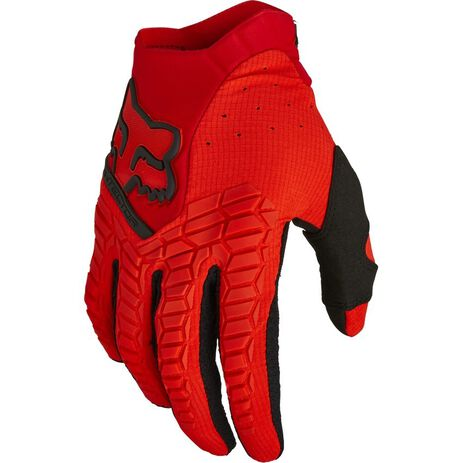 _Handschuhe Fox Pawtector Rot Fluo | 21737-110 | Greenland MX_