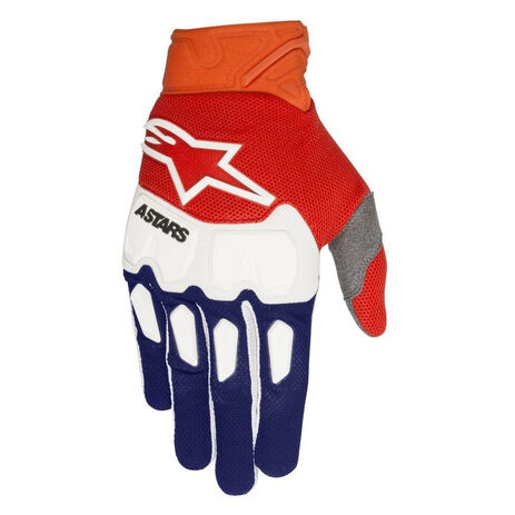 _Alpinestars Racefend Handschuhe Blau/Orange Fluo/Wieß | 3563518-7043-P | Greenland MX_