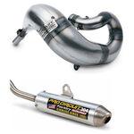 _Pro Circuit Works Komplettauspuff Kawasaki KX 500 89-04 | ECPC-WKX50089 | Greenland MX_