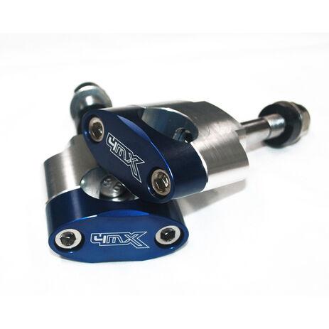 _4MX Lenker Anbaukit 28 mm Axis 12 mm Blau | MS-19BL | Greenland MX_