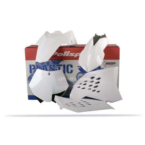_Polisport Plastik Kit KTM SX 07-10 SXF 07-10 EXC 08-11 EXCF 08-11 Weiß | 90128 | Greenland MX_