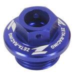 _Zeta Öleinfüllschraub Honda Yamaha Blau | ZE89-2112 | Greenland MX_
