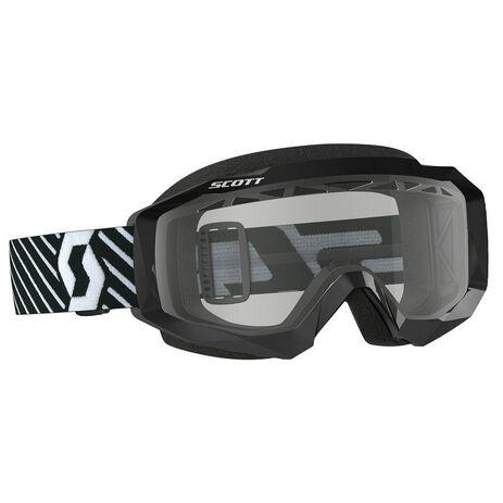 _Scott Hustle MX Enduro Brille Schwarz/Weiß | 2625941007043 | Greenland MX_