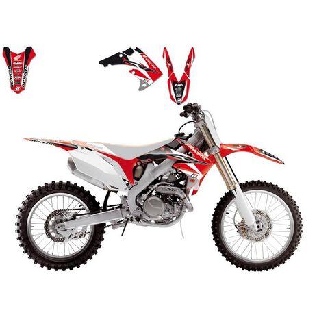 _Blackbird Dream 4 Aufkleber Kit Honda CRF 250 04-09 | 2135N | Greenland MX_