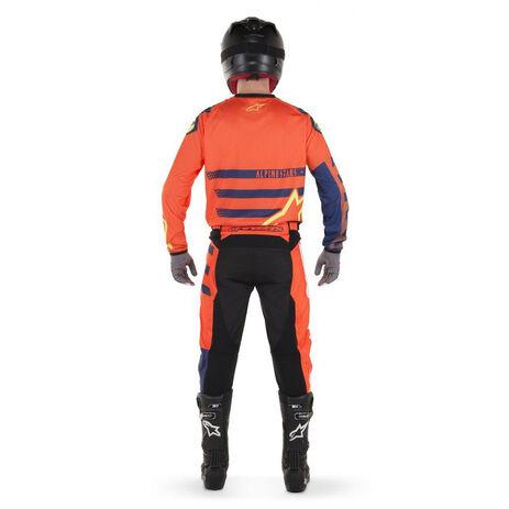 _Alpinestars Racer Braap 2018 Jersey Orange Fluo/Blau/Weiß | 3761418-473-P | Greenland MX_