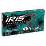 _Iris Black O´Ring 520 118 Glieder Verstärkte Kette mit Abdichtung | 91951340118100 | Greenland MX_