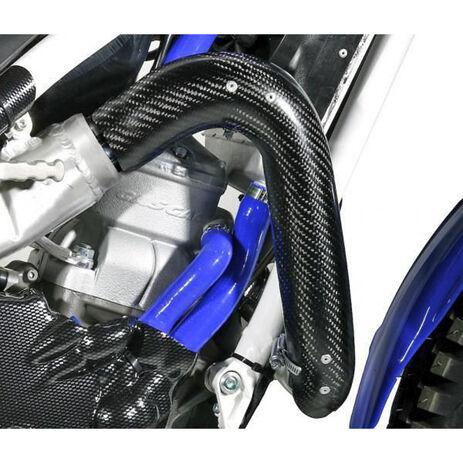 _Jitsie Auspuff Schutz Carbon Gas Gas Pro/Racing/Raga/Factory 05-16 | JI205-0202 | Greenland MX_