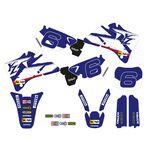 _Tecnosel AufkleberKit + Sitzbankbezug Replica Team Yamaha 1998 YZ 125/250 96-01 | 82V02 | Greenland MX_