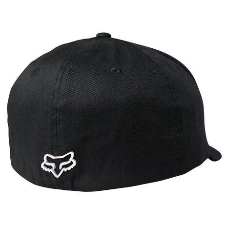 _Fox Pro Circuit Draftr Flexfit Hat Schwarz | 22195-001-P | Greenland MX_