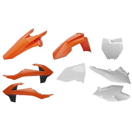 _Polisport KTM SX 125/144/250 SX-F 16-..SX 250 17-.. Plastik Kit OEM | 90750 | Greenland MX_