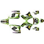 _Komplett Aufkleber Kit Kawasaki KX 450 F 09-11 Rockstar   SK-KX450F0911RKS-P   Greenland MX_