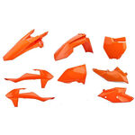 _Polisport KTM SX 125/144/250 SX-F 16-..SX 250 17-.. Plastik Kit Orange | 90700 | Greenland MX_