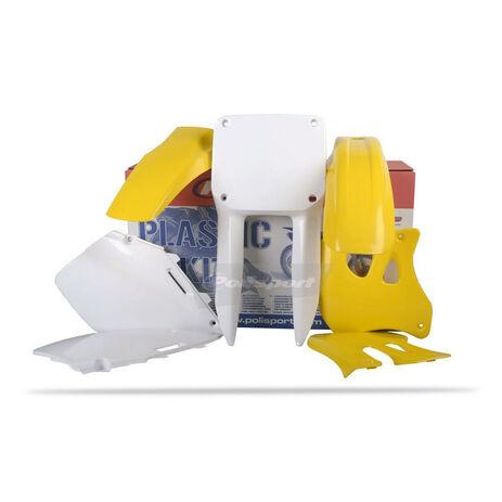 _Polisport Plastik Kit Suzuki RM 125/ 250 96-98 | 90093 | Greenland MX_