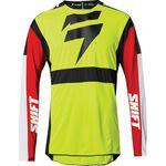_Shift 3Lack Label Race Jersey Gelb Fluo | 24142-130 | Greenland MX_