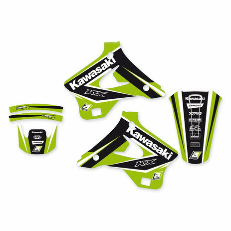 _Blackbird Aufkleber Kit Dream 4 Kawasaki KX 125/250 94-98 | 2410N | Greenland MX_