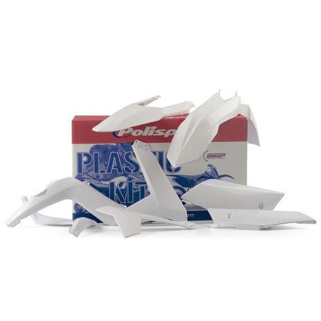 _Polisport Plastik Kit GGas Gas EC 12-13 Weiß | 90490 | Greenland MX_