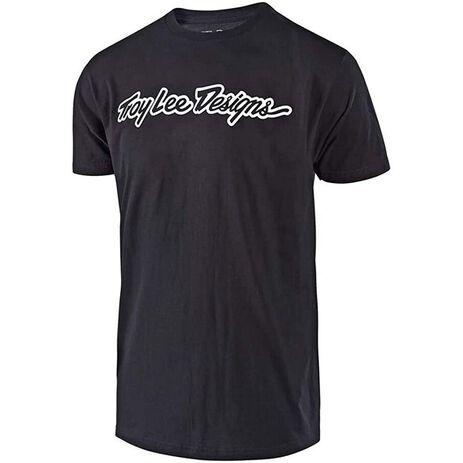 _T-Shirt Troy Lee Designs Signature | 70103721-P | Greenland MX_