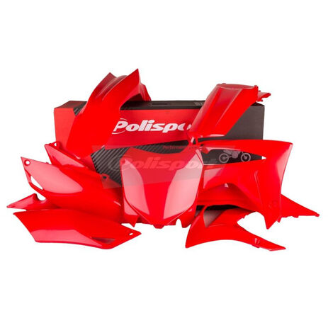 _Polisport Plastik Kit Honda CRF 250 R 14-17 CRF 450 R 13-16 Rot   90628   Greenland MX_