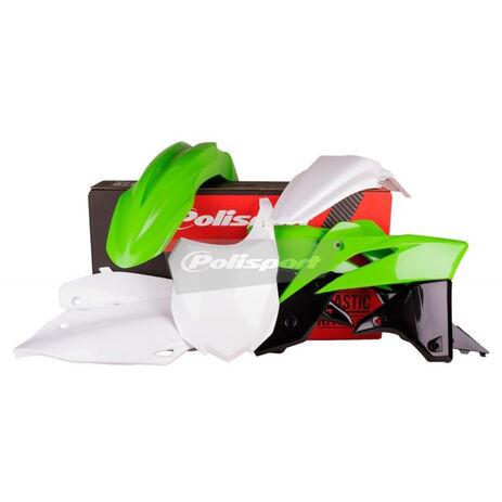 _Polisport Plastik Kit Kawasaki KX 250 F 13-15 OEM 14/15 | 90625 | Greenland MX_