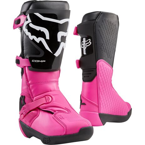 _Fox Comp Damen Stiefel Schwarz/Pink   24013-285   Greenland MX_