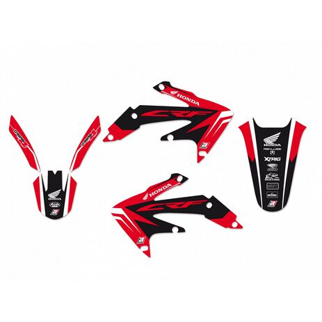 _Blackbird Dream 4 Aufkleber Kit Honda CRF 450 X 04-16 | 2143N | Greenland MX_