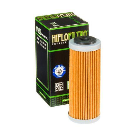 _Hiflofiltro Ölfilter KTM EXC-F 250 14-.. SX-F 250 13-.. SX-F 350 11-.. | HF652 | Greenland MX_