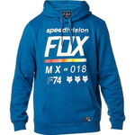 _Fox District 2 Sweatshirt Blau | 19691-157-P | Greenland MX_