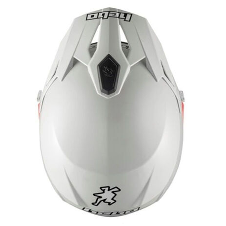 _Trial Helm Hebo Zone 5 Monocolor Weiss | HC1112B | Greenland MX_