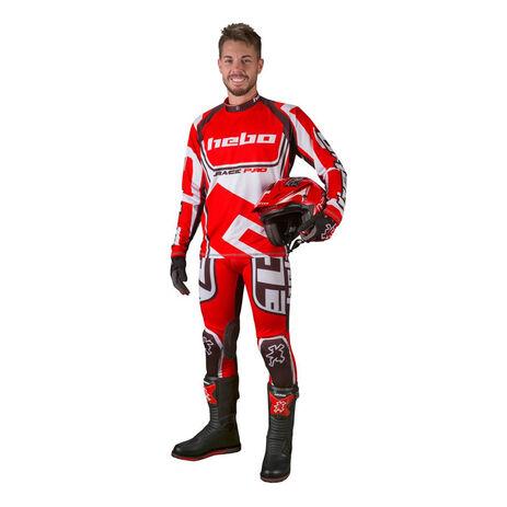 _Hebo Trial Race Pro II Jersey Rot | HE2172R | Greenland MX_
