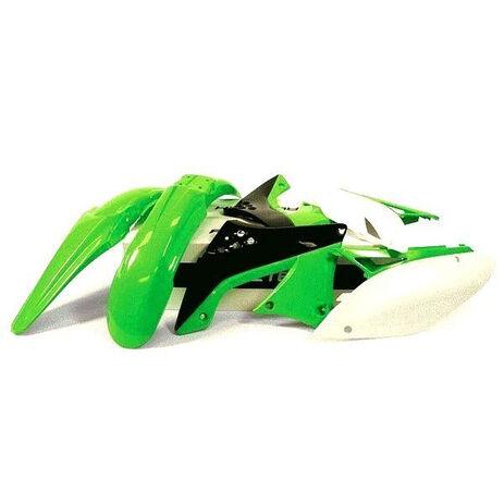 _Race Tech Plastik Kit Kawasaki KLX 450 R 07-12 | RTKITKLX-OEM-407 | Greenland MX_