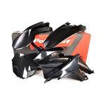 _Polisport Plastik Kit KTM EXC/ EXC-F 14-16 Schwarz | 90646 | Greenland MX_