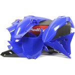 _Polisport Yamaha YZ 250/450 F 14-17 Plastik Kit | 90671 | Greenland MX_