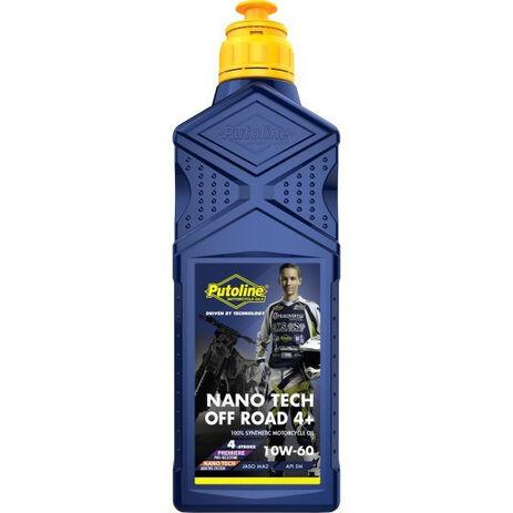_Putoline Off Road 4 Takt Nano Tech Öl 4+ 10W-60 Oil 1 Liter | PT74025 | Greenland MX_