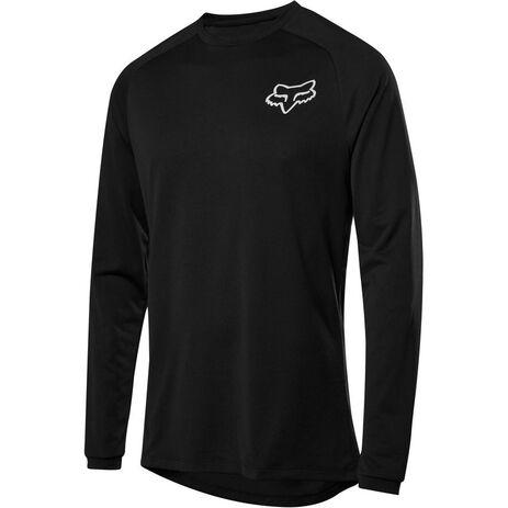 _Fox Tecbase Langärmliges T-Shirt | 26279-001 | Greenland MX_