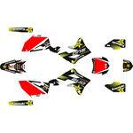 _Komplett Aufkleber Kit Kawasaki KX 450 F 12-15 Rockstar   SK-KX4501215RKS-P   Greenland MX_