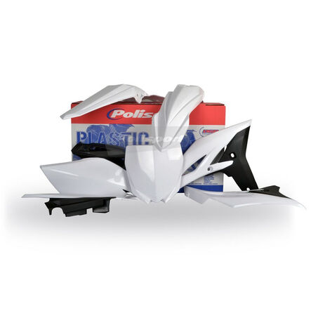 _Polisport Plastik Kit YZ 250 F 10-13 Weiß | 90259 | Greenland MX_