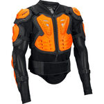 _Fox Titan Sport Body Protektoren-Jacke Schwarz/Orange | 10050-016-P | Greenland MX_