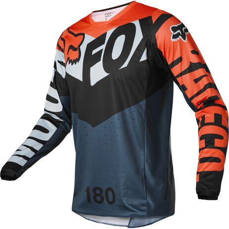 _Fox 180 Trice Jersey Grau/Orange | 26728-230 | Greenland MX_