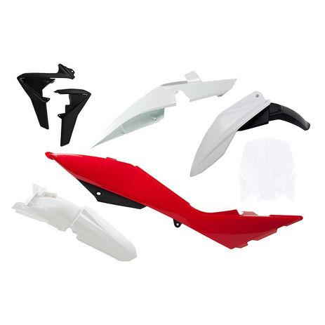_Race Tech Plastik Kit Husqvarna TC/TE 449/511 11-13 Weiß/ Rot/Schwarz | RTKITHSQ-OEM-507 | Greenland MX_