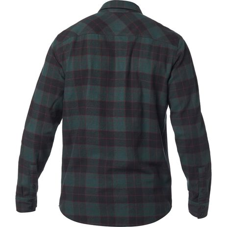 _Fox Traildust Flannel Hemd Emerald | 23826-294 | Greenland MX_