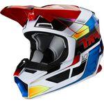 _Fox V1 Yorr Kinder Helm Blau/Rot | 25481-149 | Greenland MX_