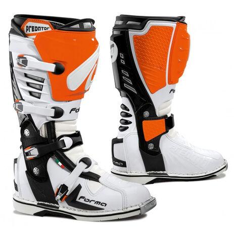 _Forma Predator Stiefel Orange /Weiß | FORC420-16 | Greenland MX_
