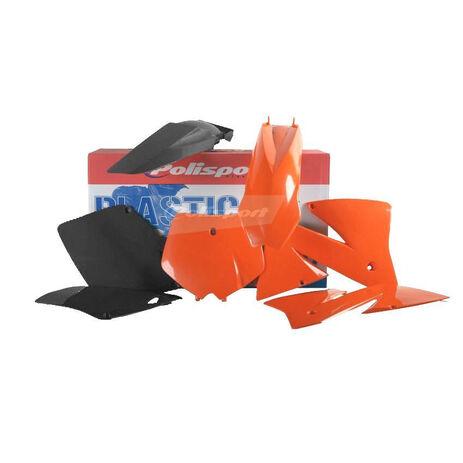 _Polisport Plastik Kit KTM EXC 01-02 EXCF 01-02 | 90101 | Greenland MX_