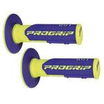 _Pro Grip 801 Dual Griffe Blau/Gelb Fluo | PGP-801YLBL | Greenland MX_