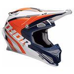 _Thor Sector Ricochet Helm Blau/Orange | 01105166-P | Greenland MX_