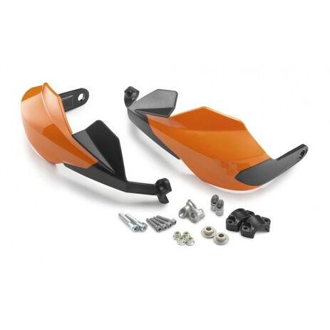 _KTM Duke 125/250 11-16 200/390 11-17 Handschutz Kpl. Orange | 9010297934404 | Greenland MX_